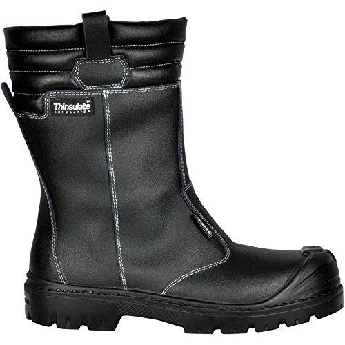 Cofra 26530-000.W45 Scarpe di di sicurezza S3, Savai Uk di SRC taglia 45, colore: nero, 1, colore: nero