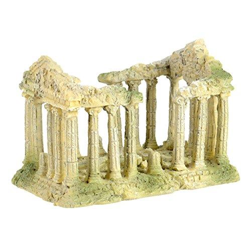Image of Underwater Treasures 65239 Roman Temple Aquarium Ornament