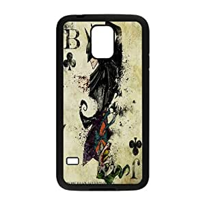 Batman Joker Poker Card Samsung Galaxy S5 Cases, Protective Cell Phone Case For Samsung Galaxy S5 Mini Yearinspace {Black}