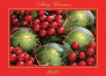 Christmas 2020 4x6 Picture Frame Amazon.: Photographer's Edge, Photo Insert Card, Premium Red