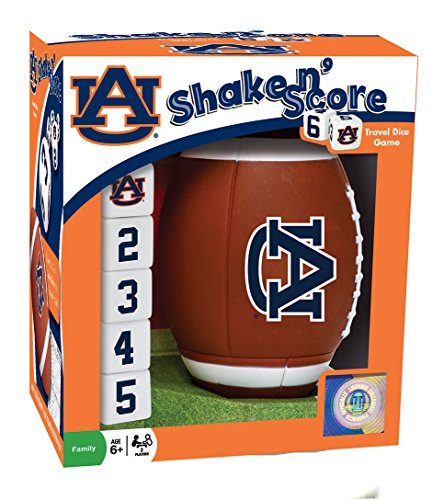 MasterPieces NCAA Auburn Tigers Shake 'n Score Dice (Ncaa Official Game)
