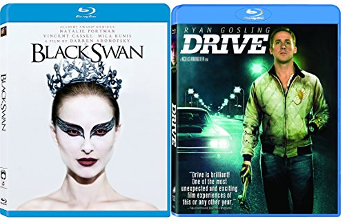 Drive & Black Swan [Blu-ray] 2 Pack Psychological Thriller Movie Set Double Feature