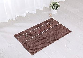 Teppich Eingang teppich badezimmer rutschfest gute absorbation teppich eingang