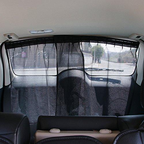 - ETbotu General Application Car Rear Window Sun Shade Sunshade Blind Curtain
