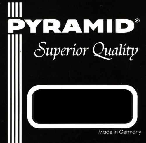 (PYRAMID SILVER-PLATED COPPER WOUND UBASS STRINGS ON A NYLON SILK CORE (For Solid Body U-BASS models))