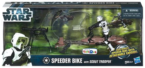 Star Wars Speeder Biker with Scout Trooper Toys R Us Exclusive 2012