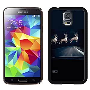 Easy use Cell Phone Case Design with Mercedes Benz Raindeer Headlights Galaxy S5 Wallpaper