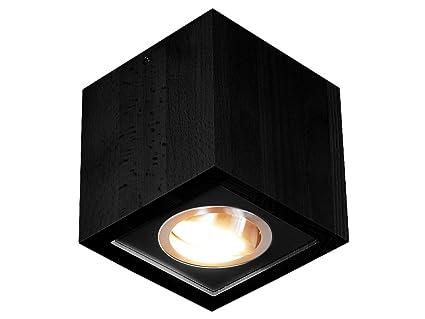 Led Deckenspot Deckenlampe Aus Massivholz Hausleuchten Led1k12sc
