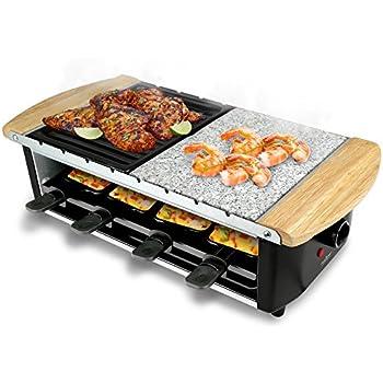 Amazon.com: Swissmar KF-77045 Classic 8 Person Raclette Party ... | {Raclette 41}
