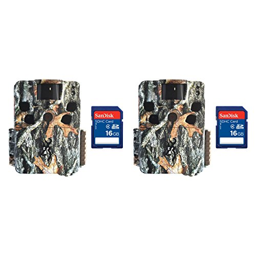 Browning Dark Ops HD Pro 18MP Video IR Game Trail Camera (2 Pack) + SD Cards