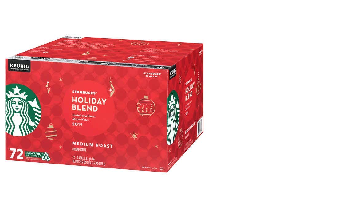 Starbucks Coffee Holiday Blend K-Cup Pods, 72 Count by Starbucks
