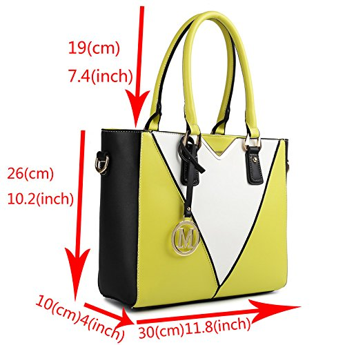 Miss Lulu Women s Leather Look V-Shape Shoulder Handbag Large Plum  Handbags   Amazon.com d2ff4accb8867