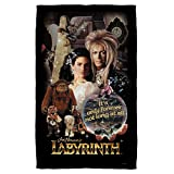 Labyrinth 1986 Family Fantasy Adventure Movie Only Forever Beach Towel