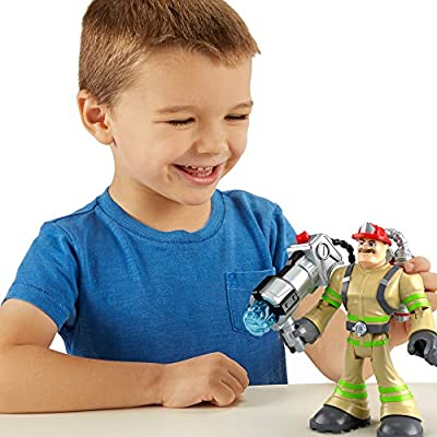 Fisher-Price Rescue Heroes Billy Blazes, 6-Inch Figure with Accessories: Toys & Games
