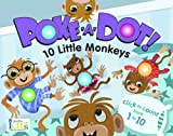 img - for 10 LITTLE MONKEYS (Poke-a-dot!) book / textbook / text book