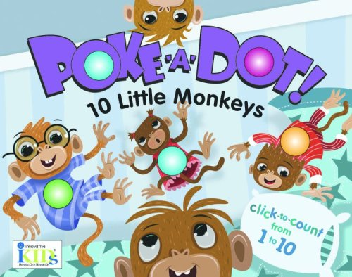 Poke-A-Dot: 10 Little Monkeys (30 Poke-able poppin;