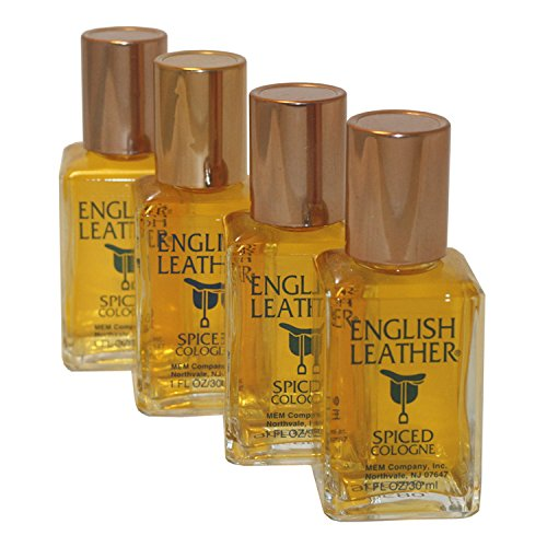 (English Leather Spiced By Mem For Men. Cologne Splash Pack Of 4 X 1.0 Oz. )