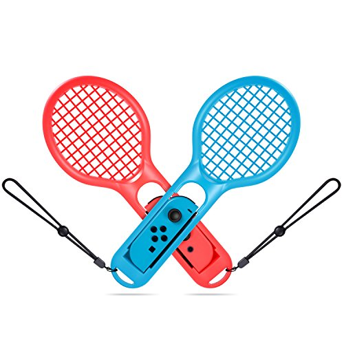 TURN RAISE Tennis Racket for Nintendo Switch Joy-con Controllers ec342dc48a80