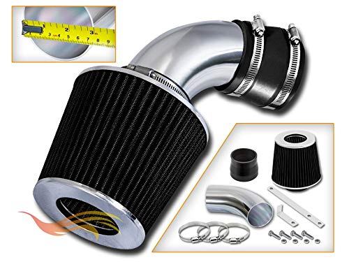 RSG Racing Short Ram Air Intake Kit BLACK Compatible For 91-97 Chevy Geo Metro L3 1.0L / L4 1.3L ONLY