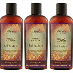 Kuumba Made Persian Garden Bath & Body Oil 6oz(pack of 3)