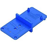 """Hettich Scheursjabloon (aanmanssjabloon) """"MultiBlue"""" - voor scharnier met diameter 26 en 37 mm - kunststof, blauw…"""