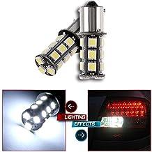 CCIYU 2 Pack High Power Xenon White 6000K 1156 BA15S 18SMD LED Parking DRL Turn Signal Backup Reverse Brake Light Bulb Lamp