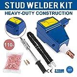 Mophprn Welder Stud Starter Kit 800 VA Spot Stud Welder Dent Puller Kit Electric Stud Welder Kit for Auto Body Repair