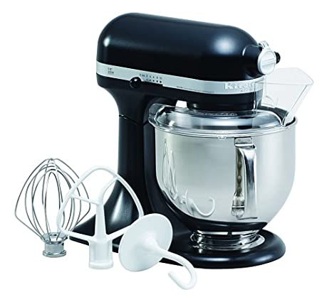 KitchenAid KN15E1XLC Accolade 400 Stand Mixer, Licorice