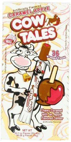 Goetze Caramel Cow Tales Apple 36 Count (2 Units Per Order)