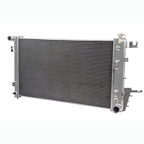 Primecooling 2 Row Core Aluminum Radiator for Dodge Ram 1500 2500 3500,3.9L/5.2L/5.9L Gas (Doge Ram)