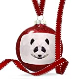 Christmas Decoration Low Poly zoo Animals Panda Bear Ornament