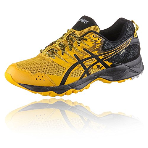 Asics Gel-Sonoma 3 G-tx, Men's Running Multicolour (Black,yellow 001)