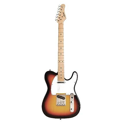 Austin Guitars ATC200SB - Guitarra eléctrica, color sunburst