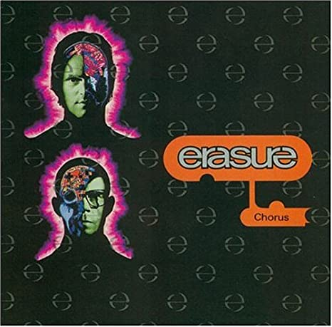 CD Platinum Disc CHORUS ERASURE