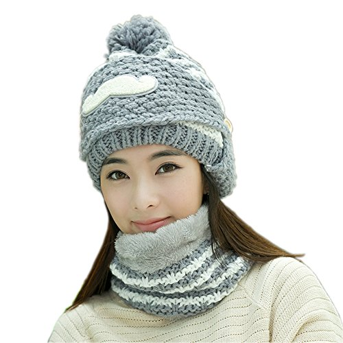 vrlegend-3-in-1-stylish-cable-knit-slouchy-beanie-neck-warmer-mask-warm-winter-hat-for-women-grey-wh