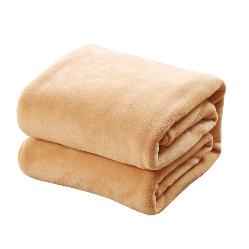 70CM TREESTAR Mantas de beb/é para ni/ños oto/ño e Invierno beb/é reci/én Nacido Copo de Nieve peque/ña Manta de Pelo Manta de Siesta Size 50 Khaki