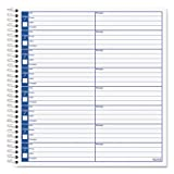 Voice Message Log Books, 8 1/4 x 8 1/2, 800-Message Book, Total 30 EA, Sold as 1 Carton