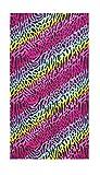 Best Rainbow Towel For Bath Beaches - Mainstay Pop Rainbow Beach Towel, 30 X 60 Review
