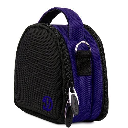 VanGoddy Mini Laurel Carrying Bag Case for Sigma Digital Cameras + Mini Tripod + Screen Protector (Blue)