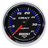 """Auto Meter 6104 Cobalt 2-1/16"""" 0-35 PSI Mechanical Boost Gauge"""