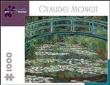 1000 piece puzzle monet - Claude Monet 1000 Piece Puzzle The Japanese Footbridge