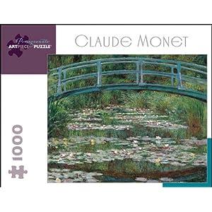 Claude Monet The Japanese Footbridge 1000 Piece Puzzle Inglese Giocattolo 15 Gen 2007