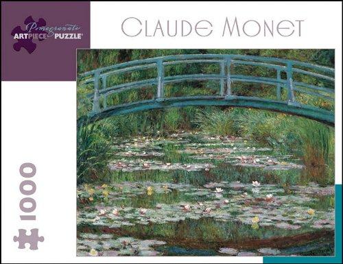 (Claude Monet 1000 Piece Puzzle The Japanese Footbridge)