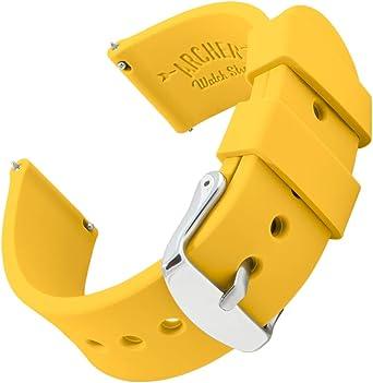 Archer Watch Straps   Repuesto de Correa Reloj de Silicona para ...