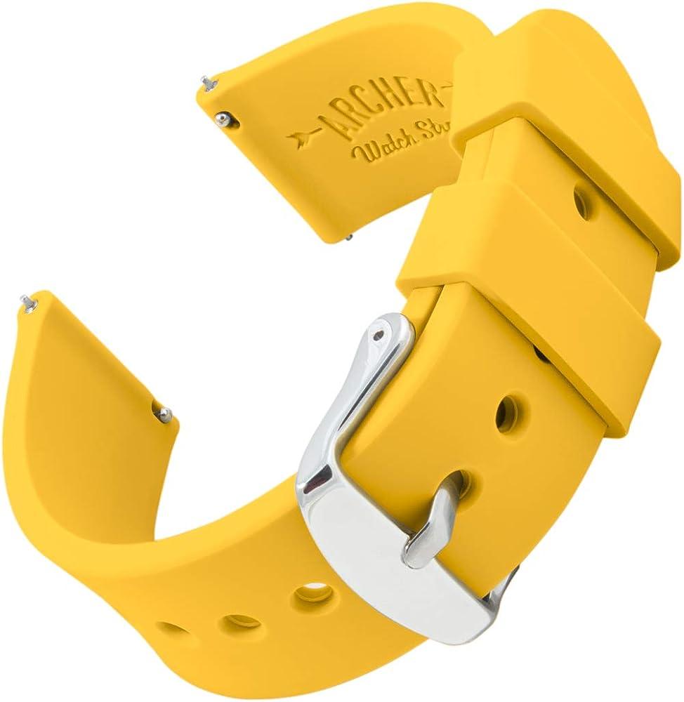 Archer Watch Straps | Repuesto de Correa Reloj de Silicona para ...