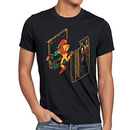 8 shirt Gamer Samus Classic Switch Retro bit T n Nes Homme Noir t A 1qPwHX