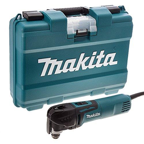Makita TM3010CK 320 W Multi-Tool includes Carrying Case - Blue (2-Piece)