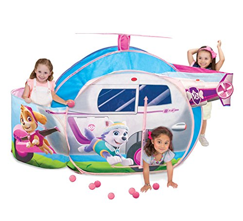 Tunnel Paw Print (Playhut Paw Patrol Skye's High Flyin' Copter)