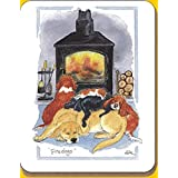 Coaster: Fire Dogs by Alisons Animals