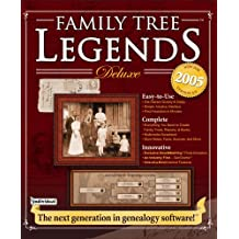 Family Tree Legends Deluxe 4.0 (Old Version)